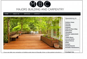 Majors Building % Carpentry